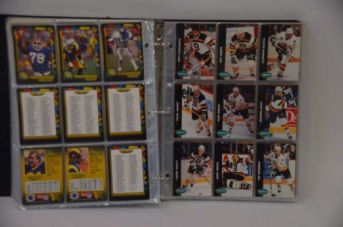 NFL Pinnacle & NHL Parkhurst Cards (650) - 3