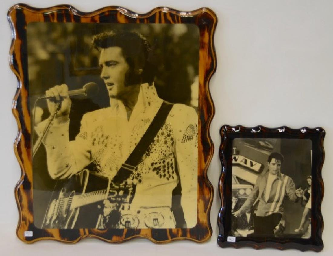 Elvis Decoupage on Wood