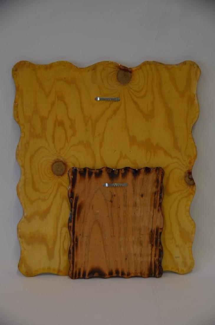 Elvis Decoupage on Wood - 2