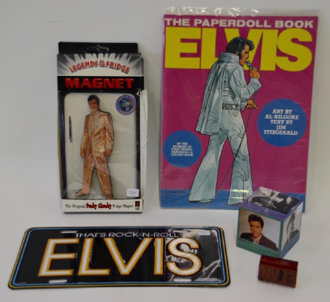 Collectors Lot of Elvis Souvenirs