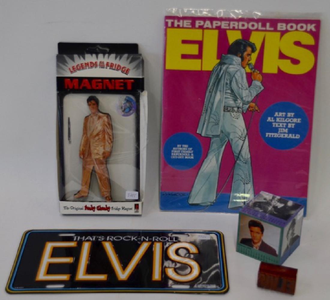 Collectors Lot of Elvis Souvenirs - 2