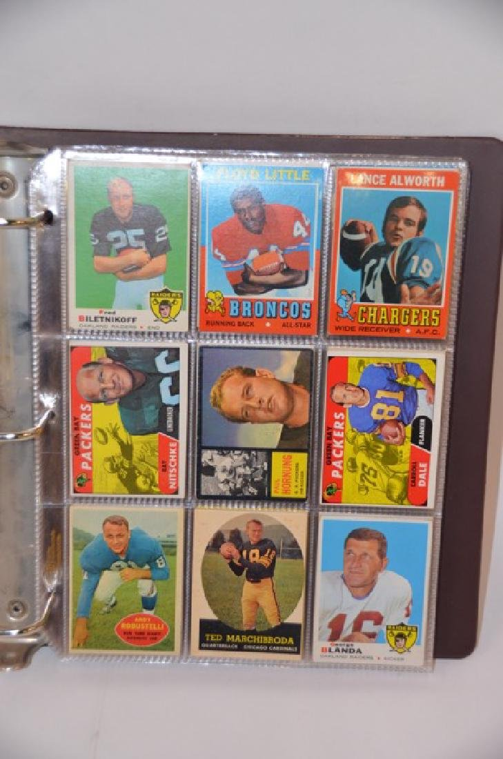 Topps Stadium 1960's-1980's Football Cards(190)