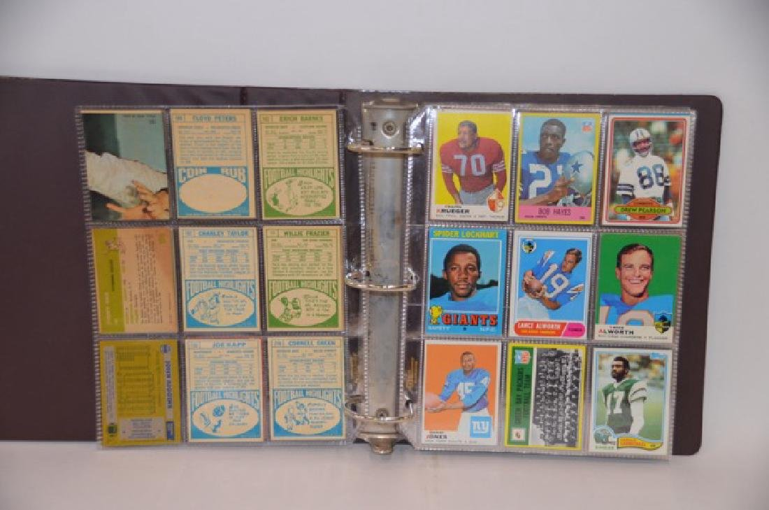 Topps Stadium 1960's-1980's Football Cards(190) - 2