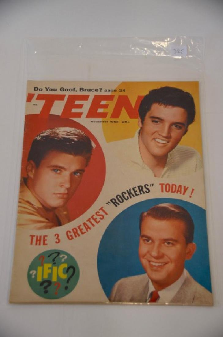 Teen Magazine November 1958