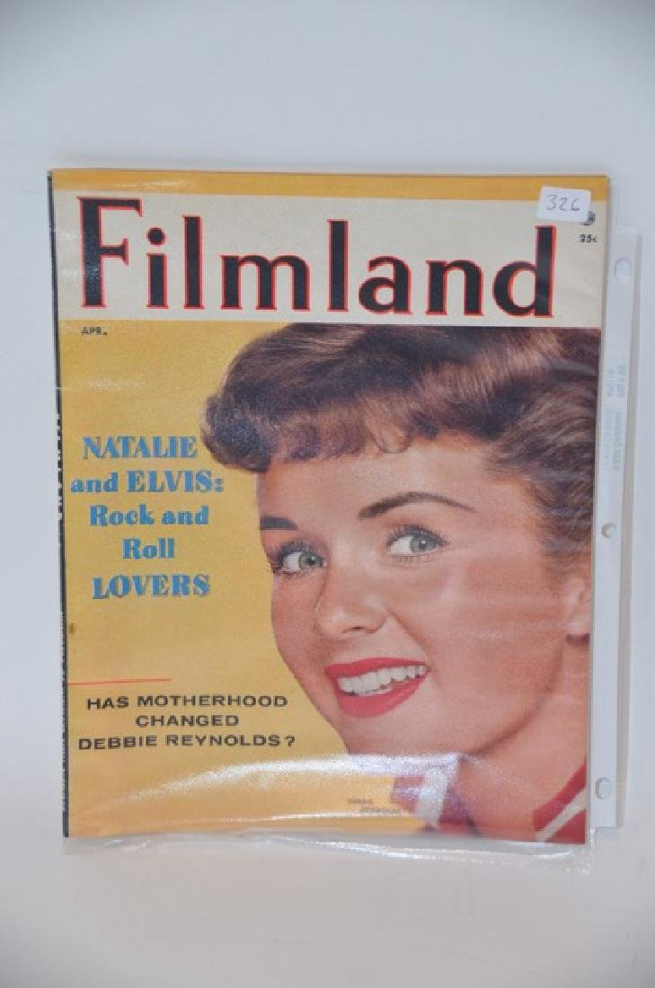 Filmland Magazine.  April 1957
