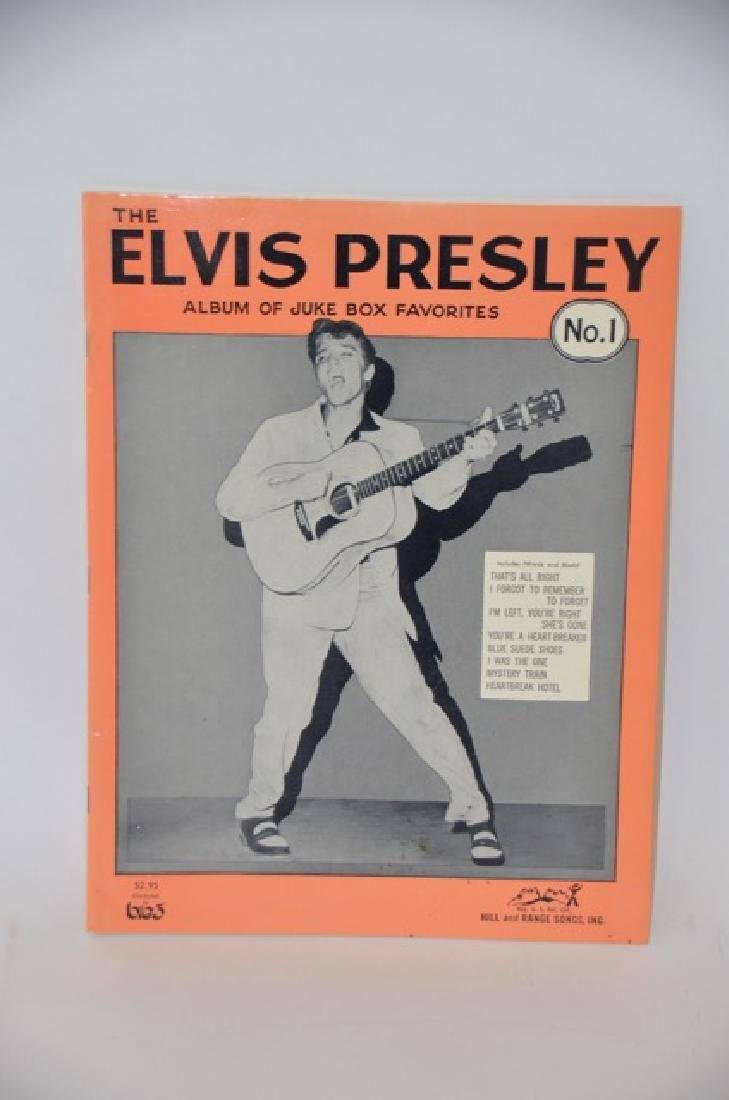 Elvis Presley Album. Juke Box Favorites