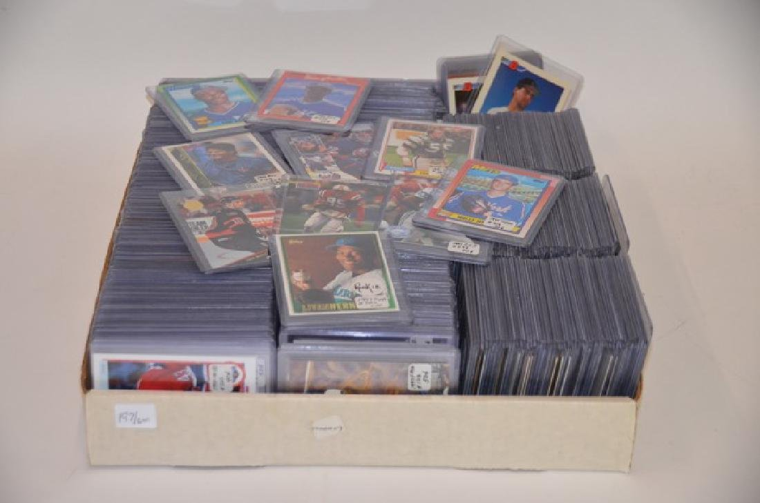 Baseball. Football and Hockey Cards (600)