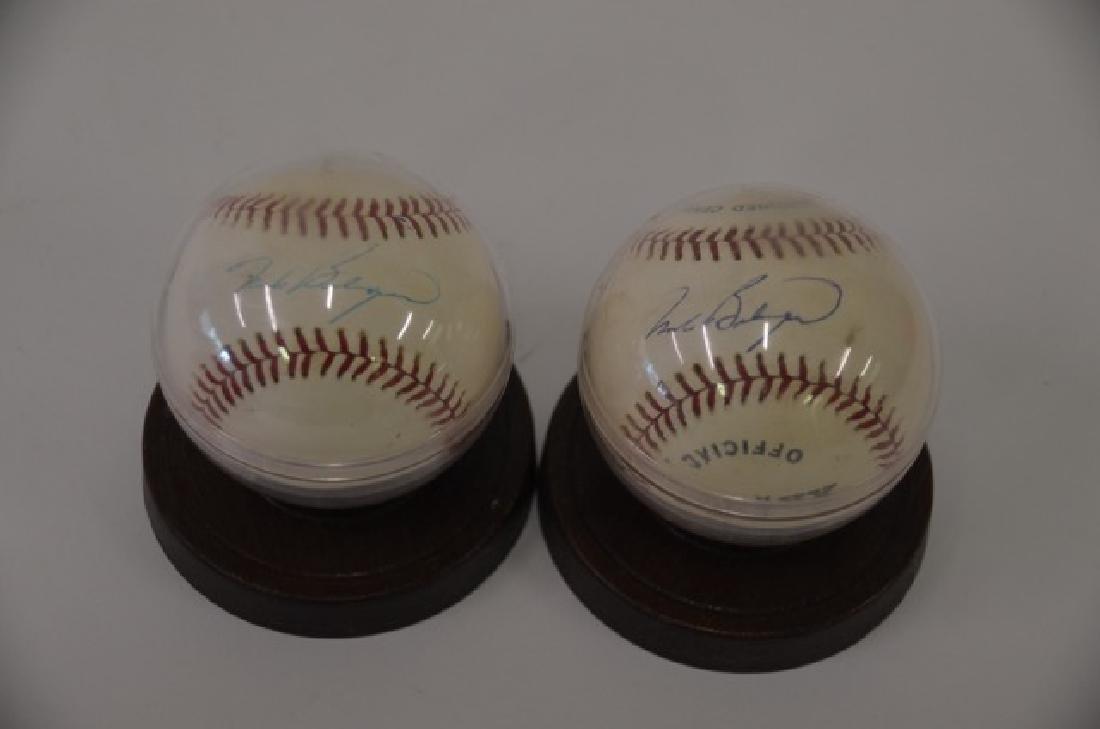 Mark Belonger Signed Baseballs (2)