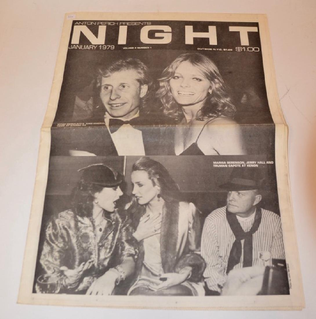 Two Anton Perich Night Newspapers - 3