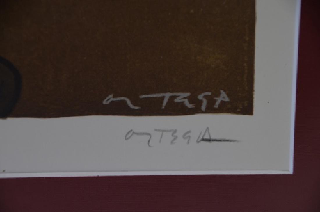 Art Deco Lithograph. Eva. Sgd. Ortega - 3