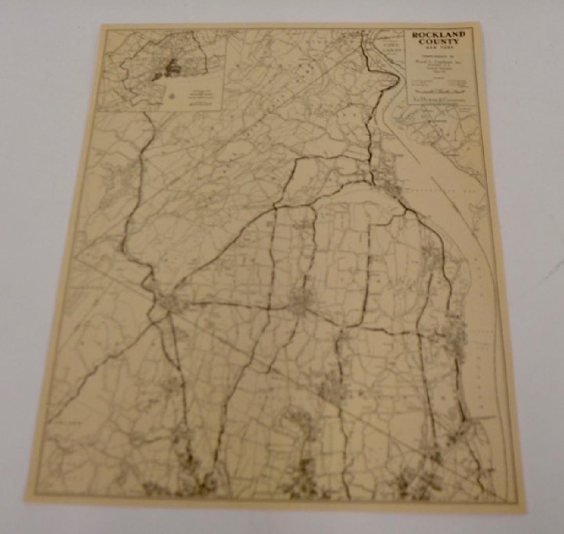 Maps of Rockland County & Suffern
