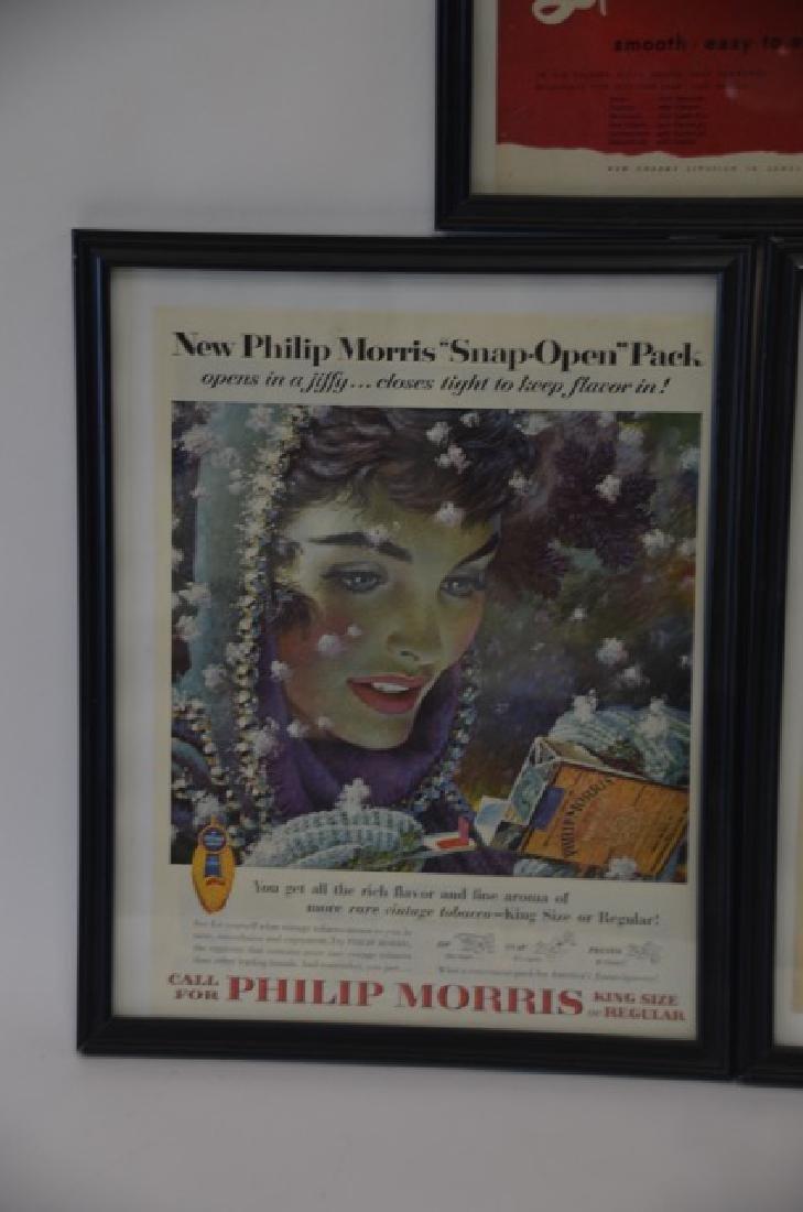 1950's Advertisements. Framed  (3) - 3