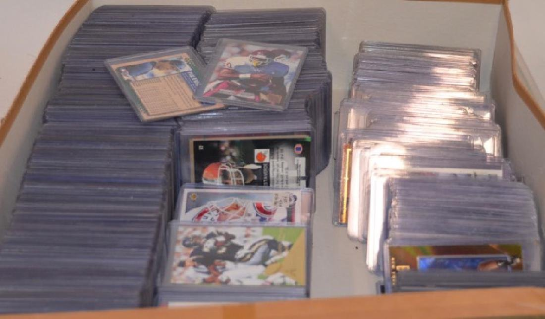 1990's Baseball and Football Cards (1000+)