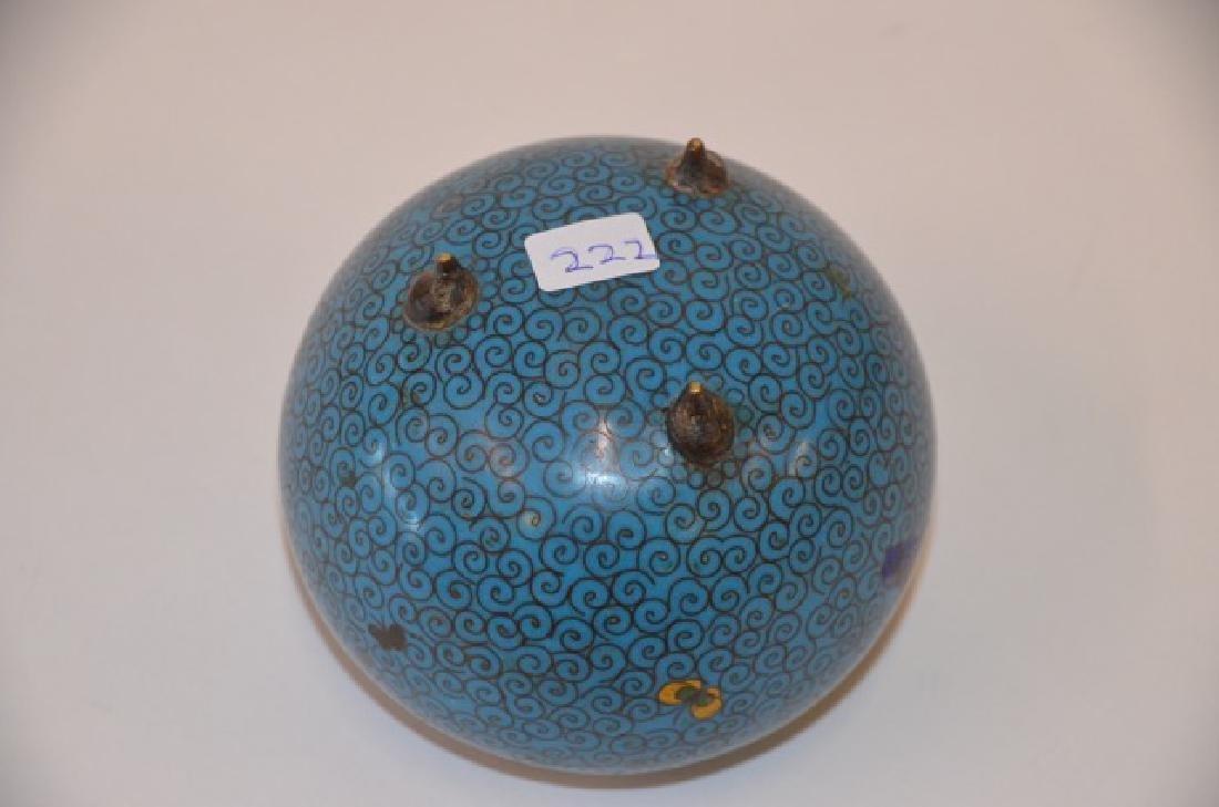 Antique Chinese Cloisonne Vase - 2