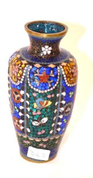 Antique Chinese Cloisonne Vase