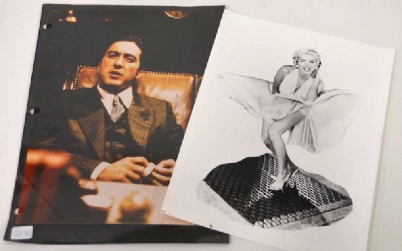 Photographs Marilyn  Monroe. Pacino