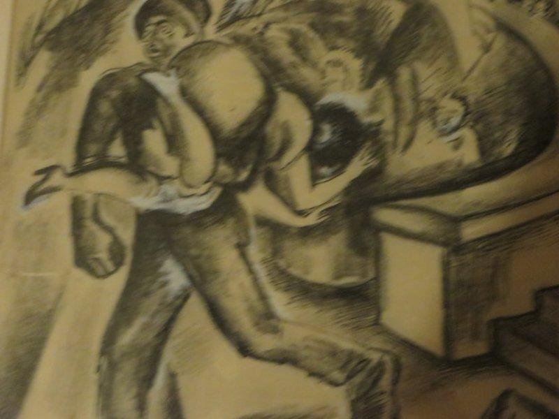 Boardman. Gouache Illustration. Sgd. - 3