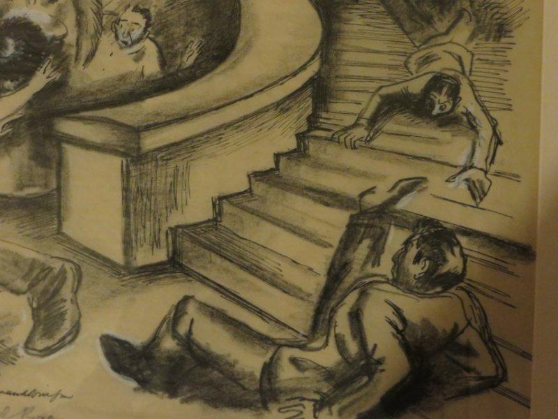 Boardman. Gouache Illustration. Sgd. - 4