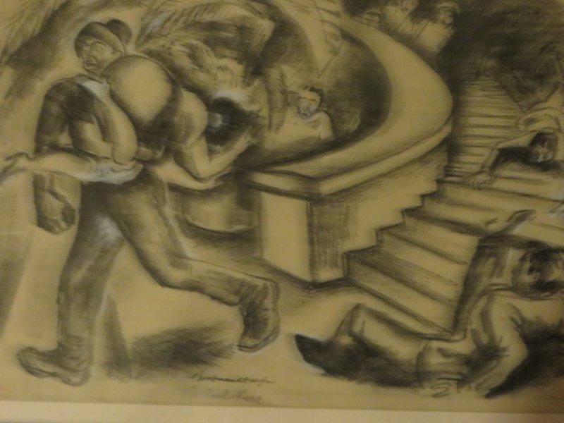 Boardman. Gouache Illustration. Sgd. - 5