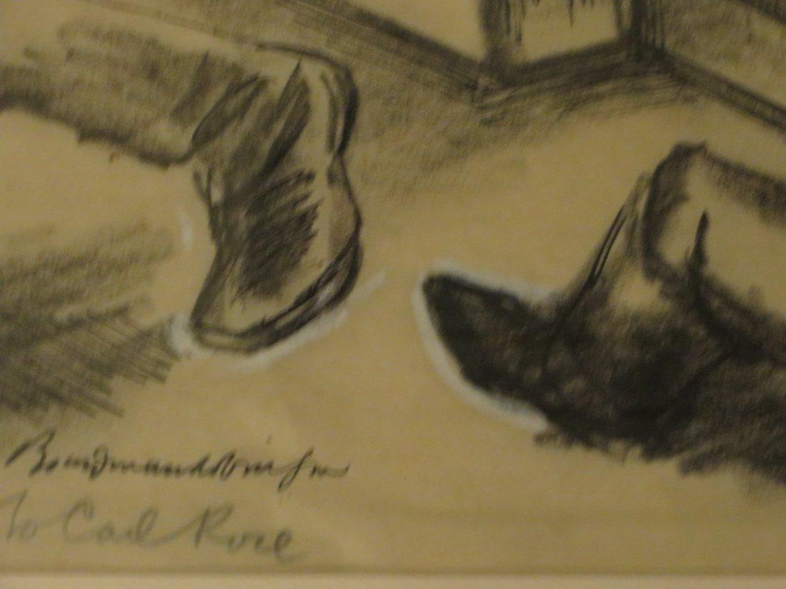 Boardman. Gouache Illustration. Sgd. - 6