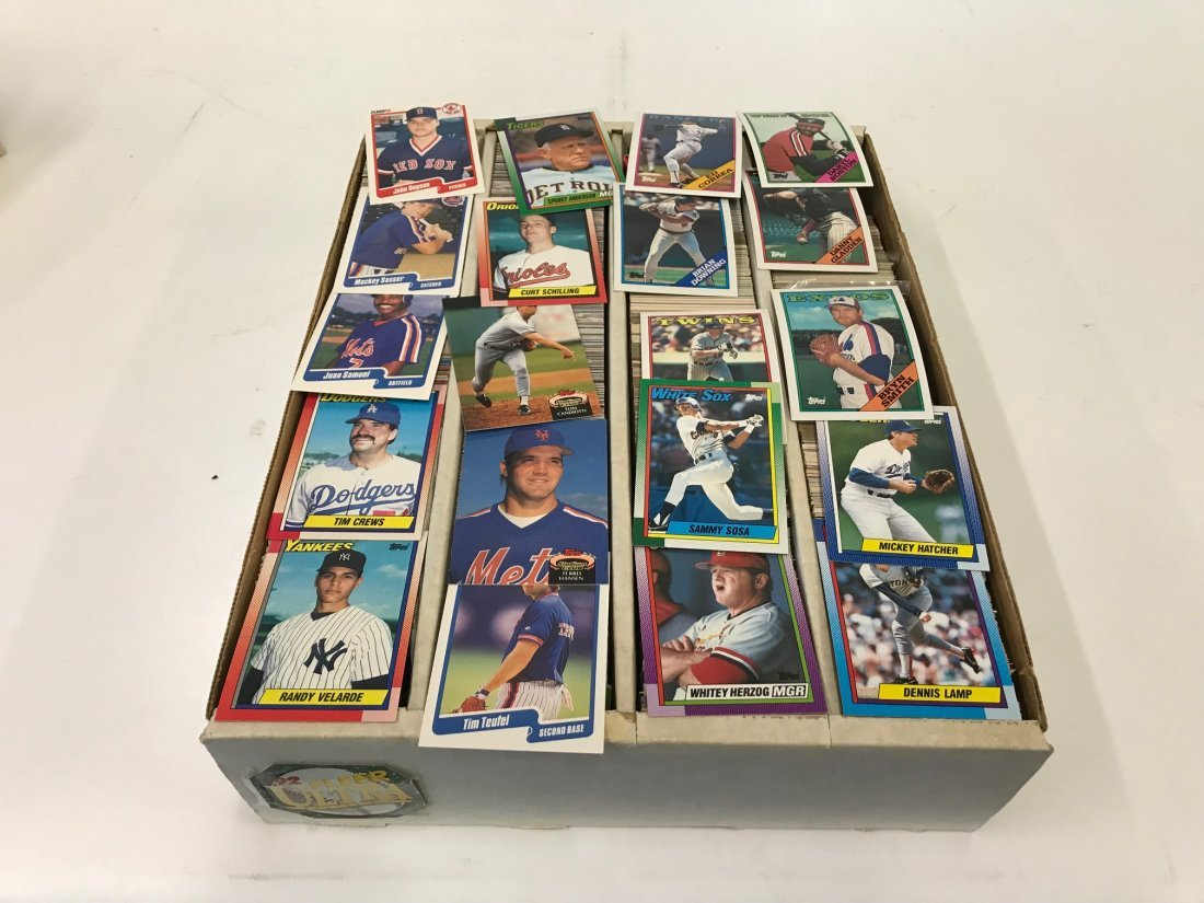 Baseball and Other Trading Cards (2400)