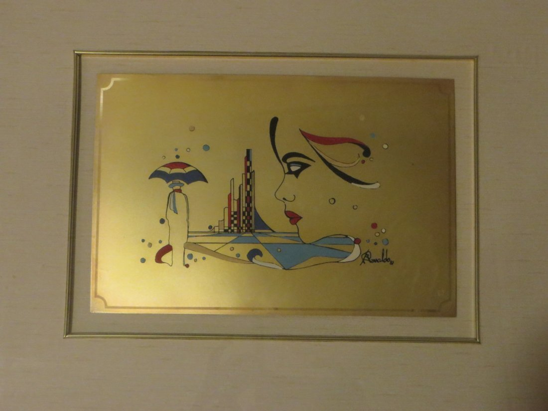A. Renaldo MCM Paintings on Silver - 2
