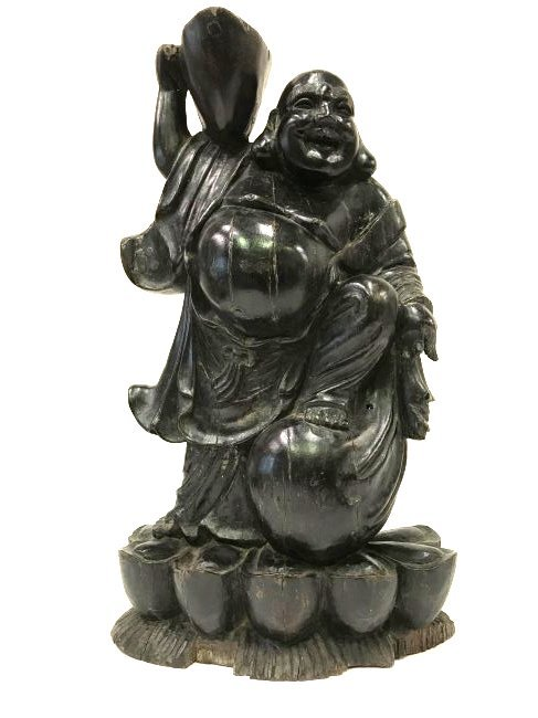 Carved Chinese Buddha Figure