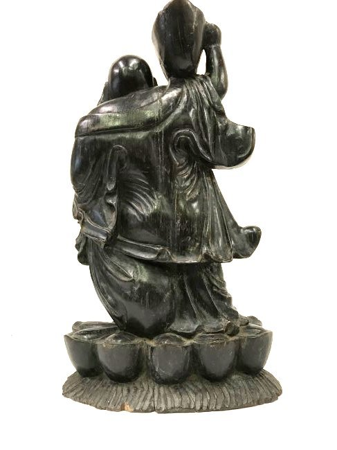 Carved Chinese Buddha Figure - 2