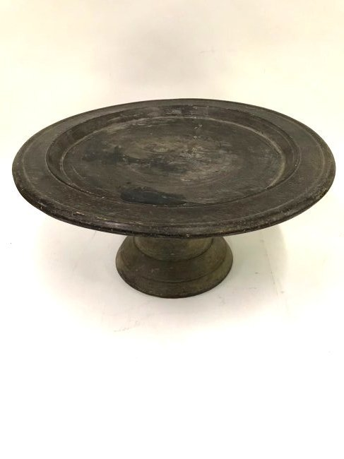 African Carved Wooden Compote