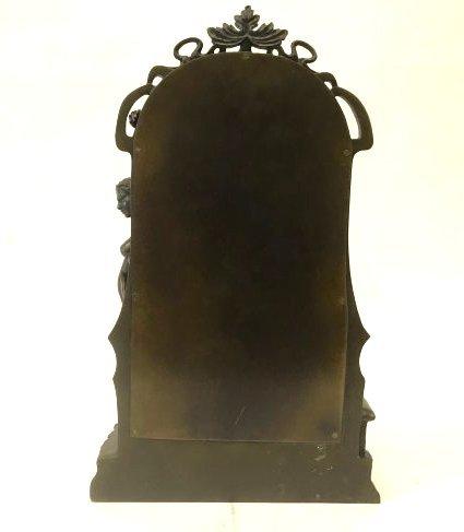 Art Nouveau Bronze Mirror - 3