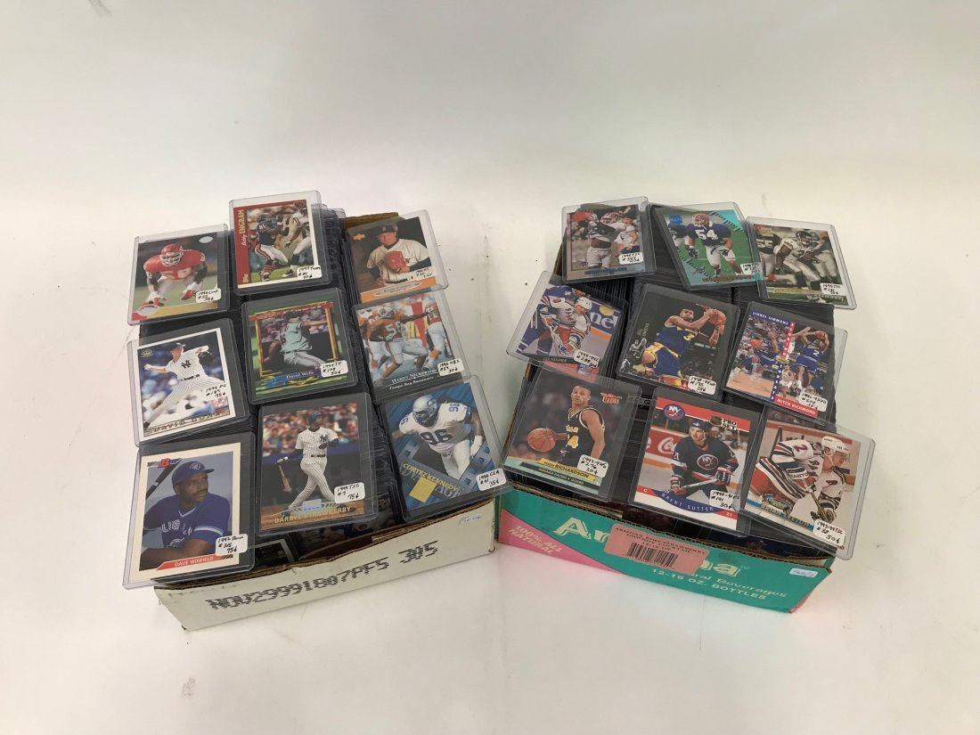 Sports Card Collection (880) - 2