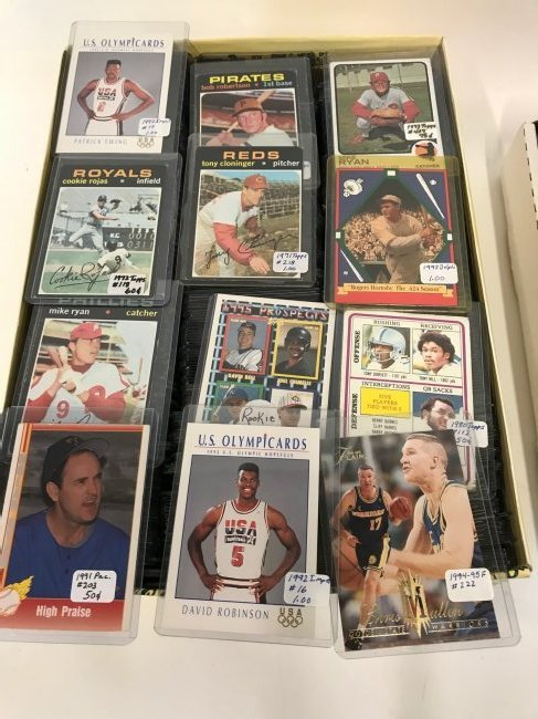 Sports Card Collection (1450) - 2