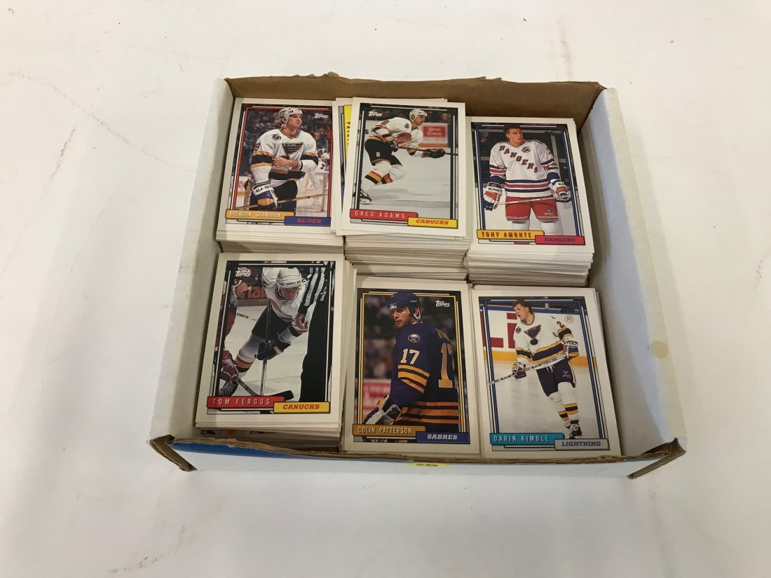 Tops '92 Hockey Card Collection(480)