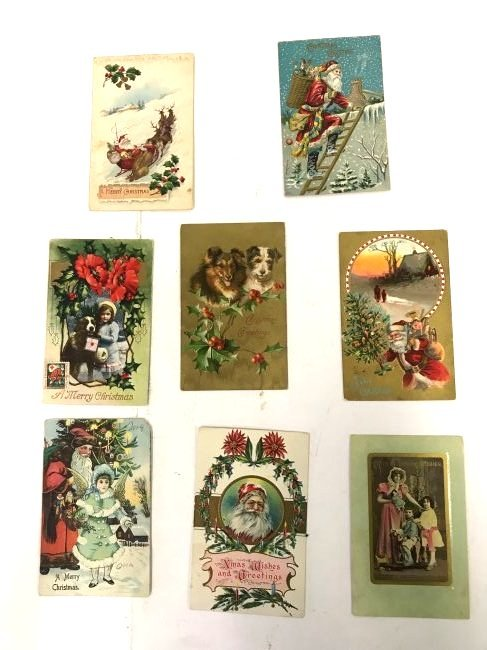 Antique Christmas and New Year  Postcards (17) - 2