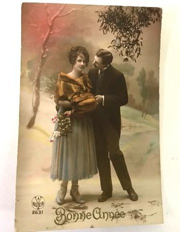 Antique Christmas and New Year  Postcards (17) - 4