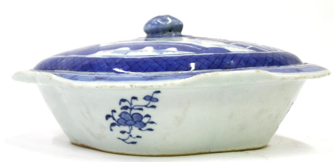 18th C. Canton Covered Tureen