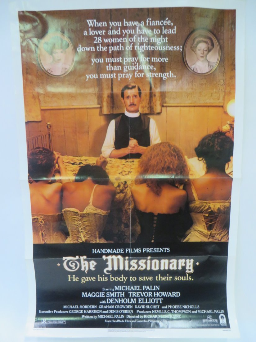 1982 Original Movie Poster The Missionary