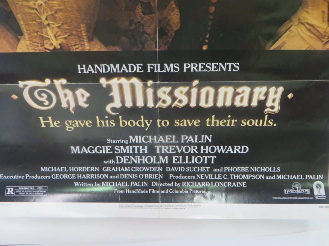 1982 Original Movie Poster The Missionary - 6