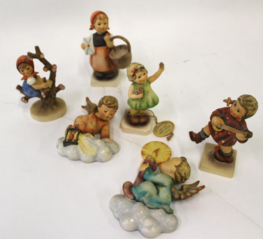Hummel Figures. Mkd. Goebel W. Germany & Hummel
