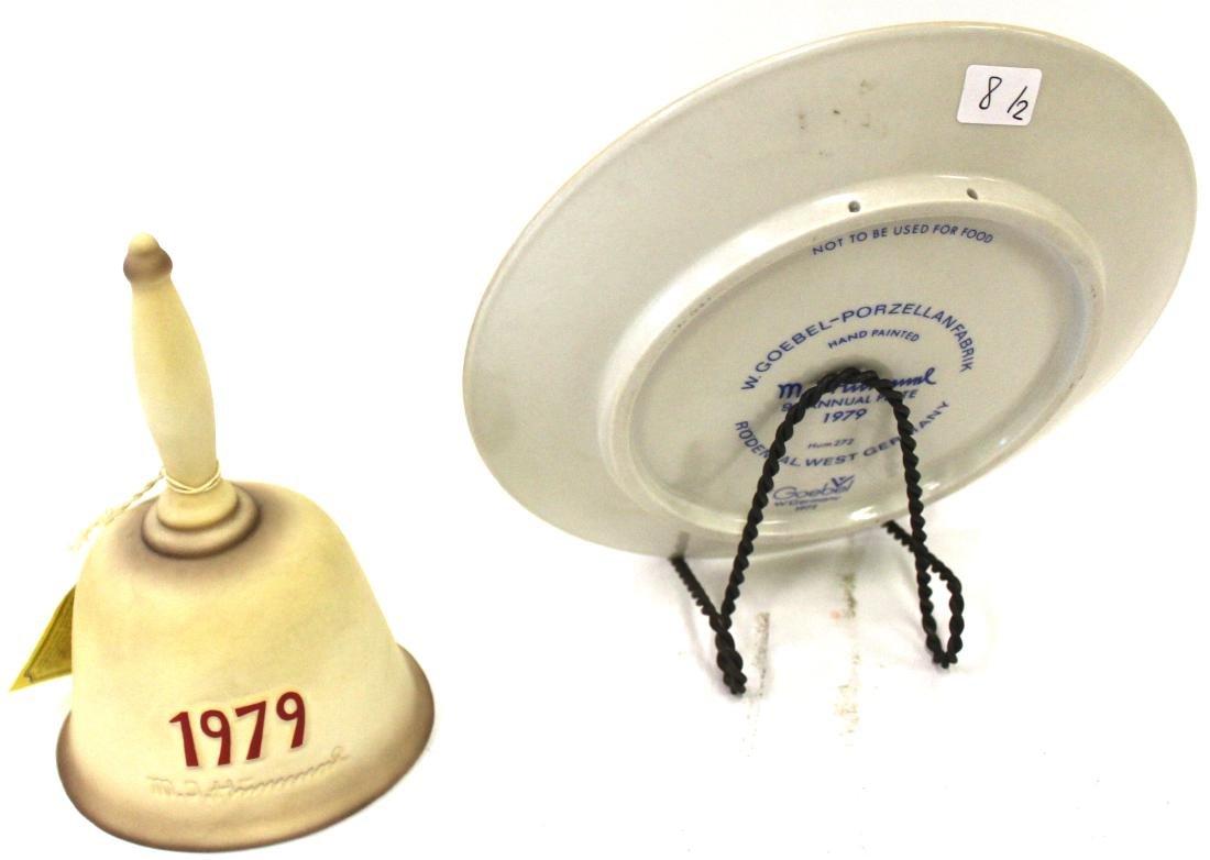 Hummel Plate and Hummel Bell - 2