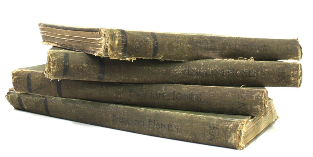 Charles Latham. In English Homes. Four  Volumes.