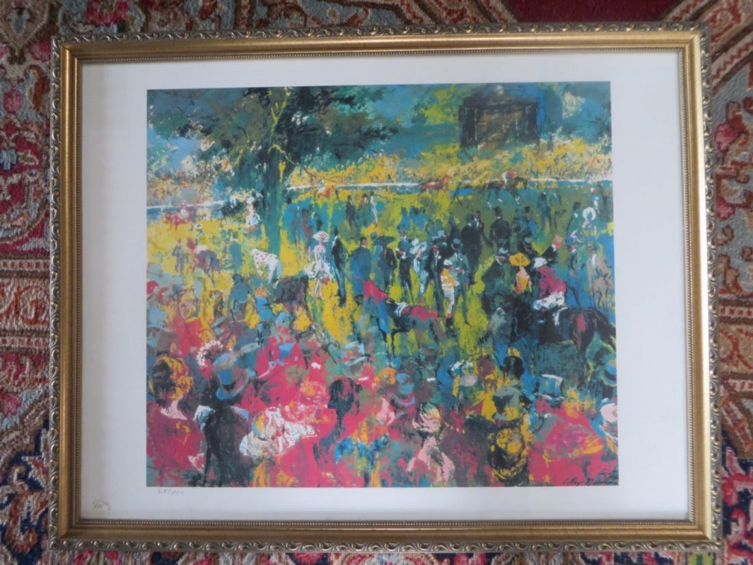 LeRoy Neiman Limited Edition Serigraph