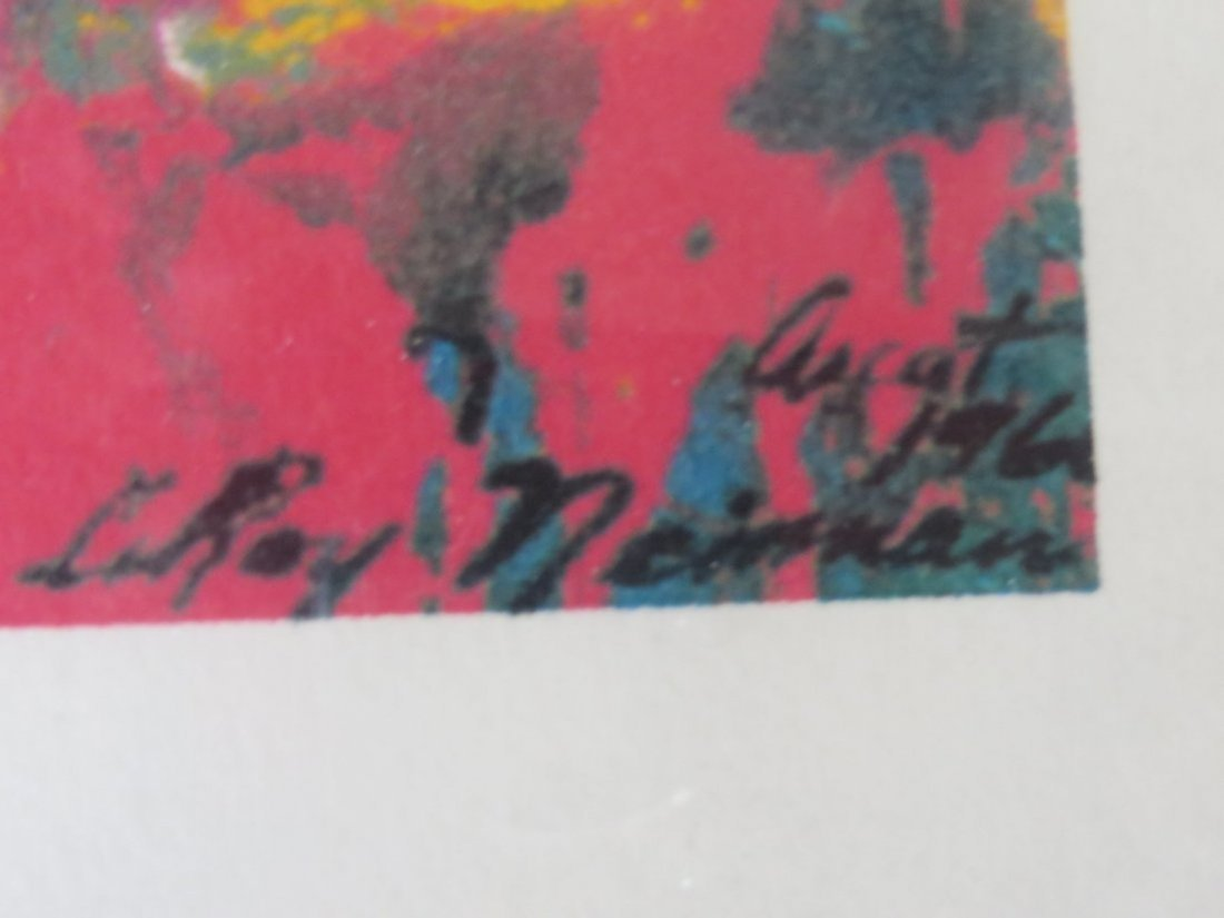 LeRoy Neiman Limited Edition Serigraph - 4
