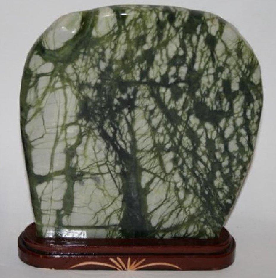 Antique Chinese Jade Scholars Rock - 2