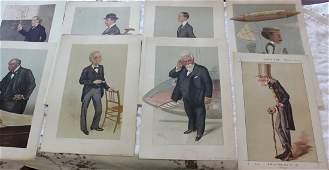 Spy Prints (12) From Vanity Fair 1893-1904