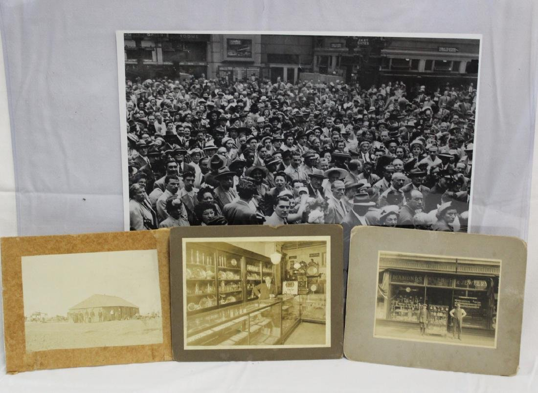 Collector's Lot of Antique Photographs (4)