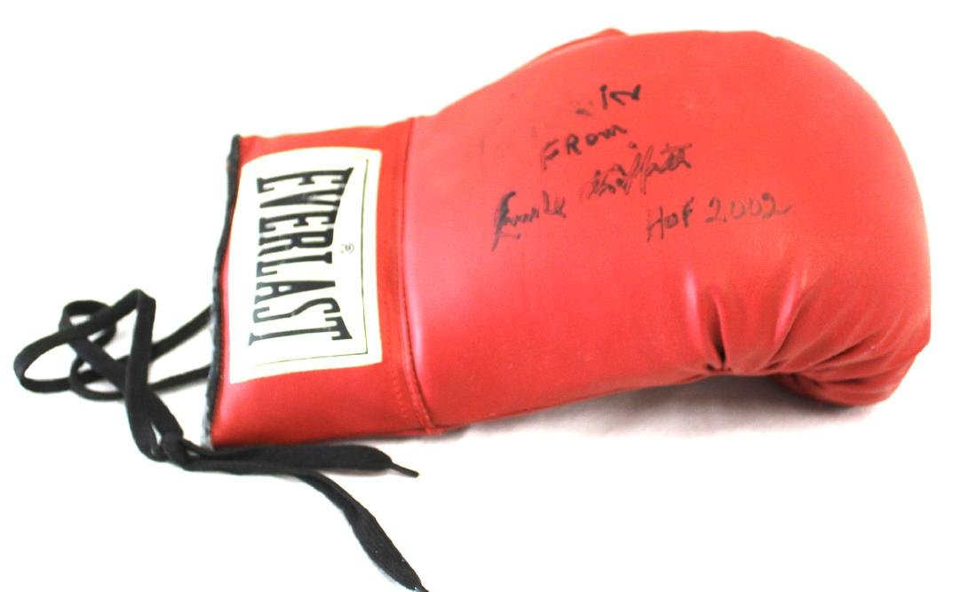 Emile Griffith Signed Boxing Glove