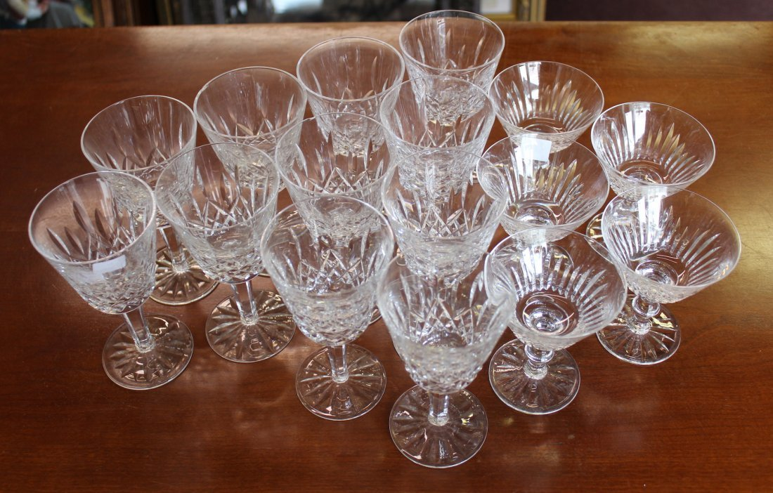 Waterford Wine Goblets (16)