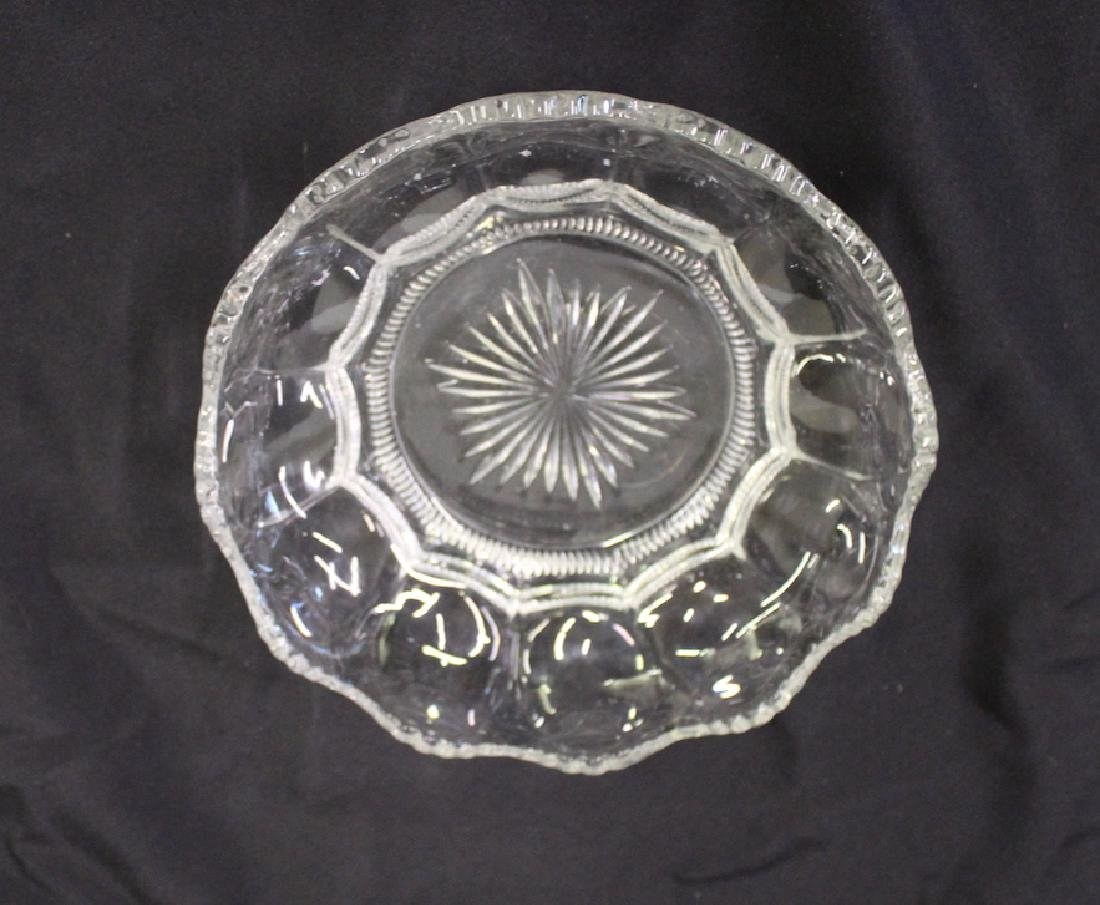Heisey Large Bowls. Colonial Patt. (2) - 3