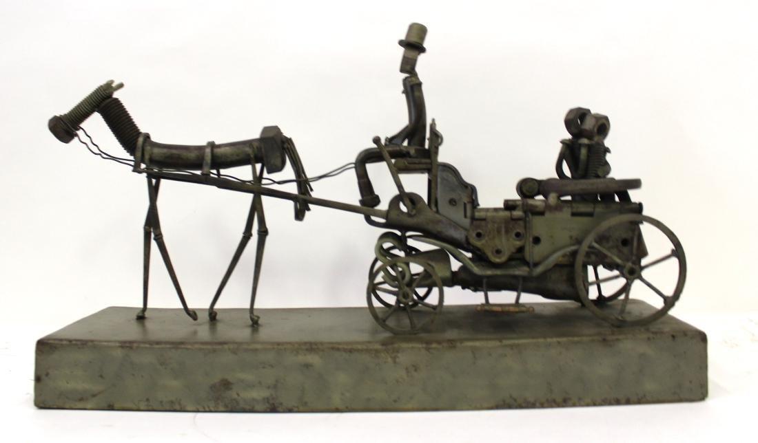 """Sculpture. """"Central Park"""" Sgd. McCabe '86"""